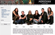 Erste MERIDIAN Tribute-Website